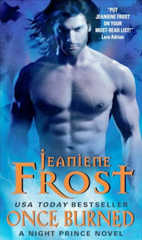 Once Burned Night Prince by Jeaniene Frost