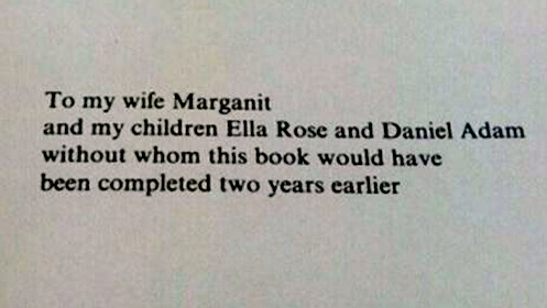 8 of The Funniest Book Dedications You Will Ever Read - #6