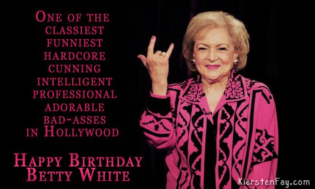 Hollywood's Darling: Happy Birthday Betty White