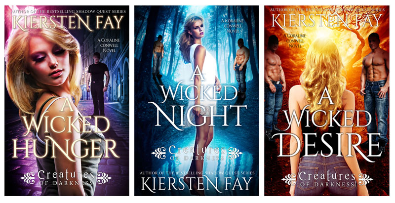 Kiersten Fay's paranormal romance series Creatures of Darkness