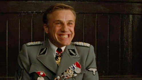 14 Characters You Hate to Love & Love to Hate - #9 Christoph Waltz as Colonel Hans Landa