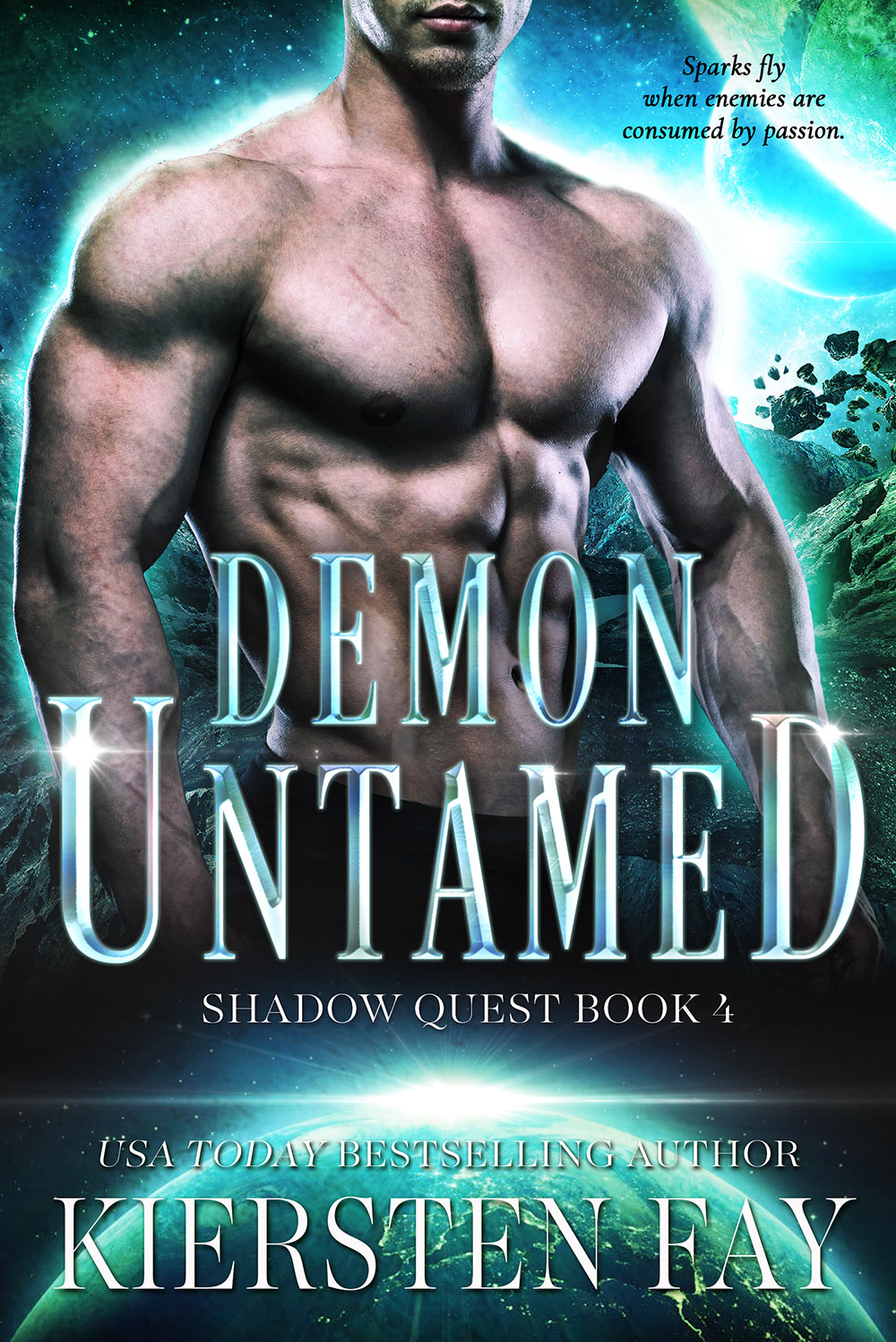 Demon Untamed - book 4 in Kiersten Fay's steamy Shadow Quest series