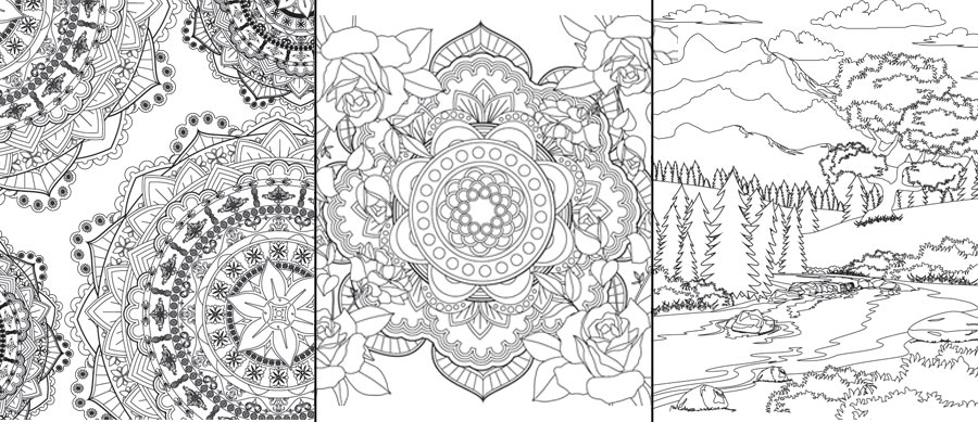 Adult Coloring Books | Kiersten Fay