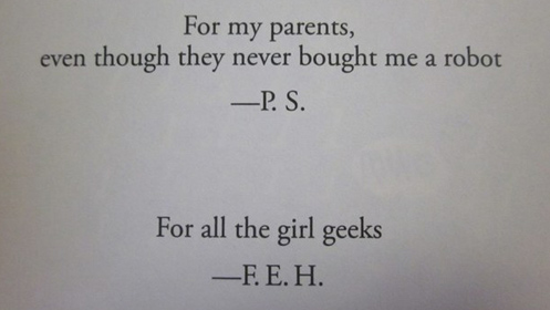 8 of The Funniest Book Dedications You Will Ever Read - #5