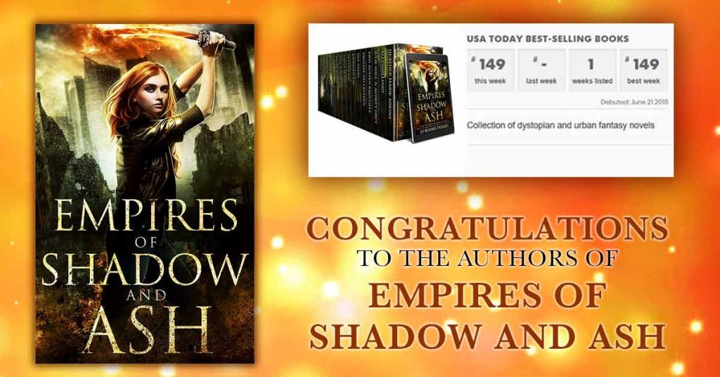 Empires of Shadow and Ash USA Today Bestseller