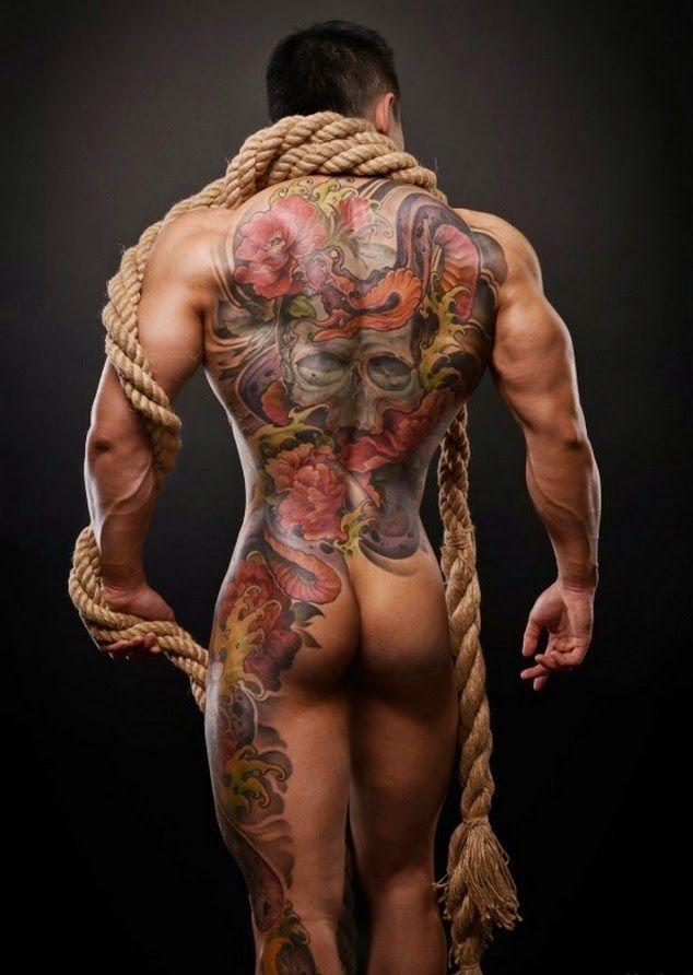 Sexy black guys with tattoos