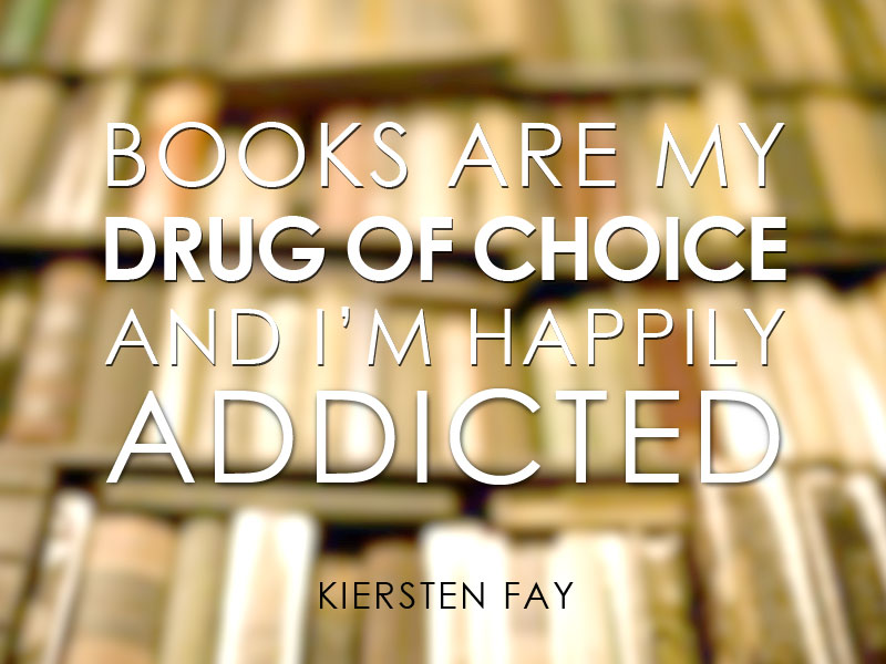 Books are my Drug of Choice #Books