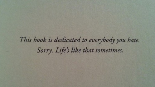 8 of The Funniest Book Dedications You Will Ever Read - #3